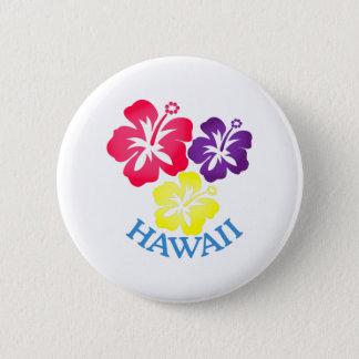 Hawaii Runder Button 5,1 Cm