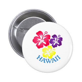 Hawaii Runder Button 5,1 Cm