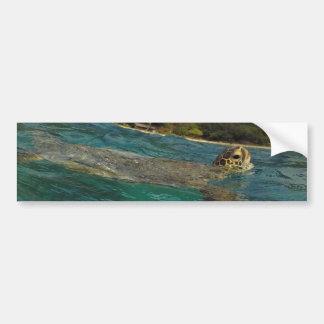 Hawaii-Schildkröten - Honu Autoaufkleber