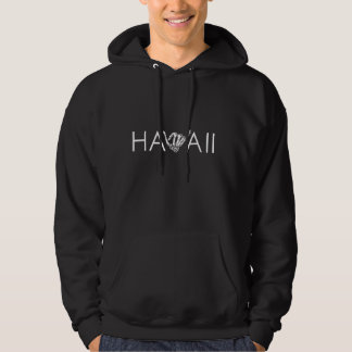 Hawaii Skeleton Shaka - schwarzer u. weißer Hoodie