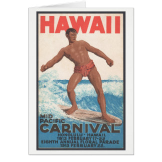 Hawaii-Surfer Karte