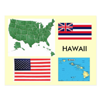 Hawaii, USA Postkarte