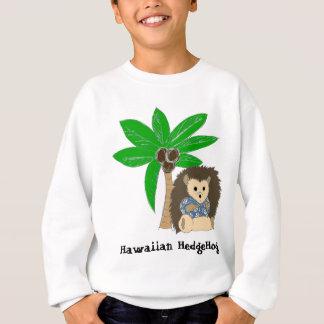 Hawaiische Igels-und Palme Sweatshirt