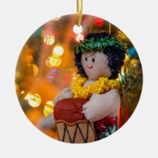 Hawaiische kleine keramik ornament