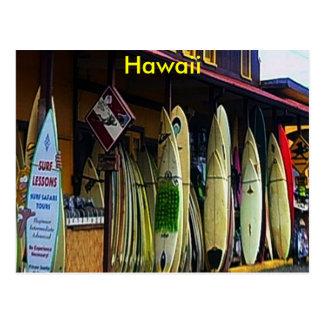 Hawaiische Postkarte