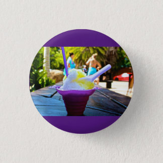 Hawaiisches Eis Knopf-Button Runder Button 2,5 Cm