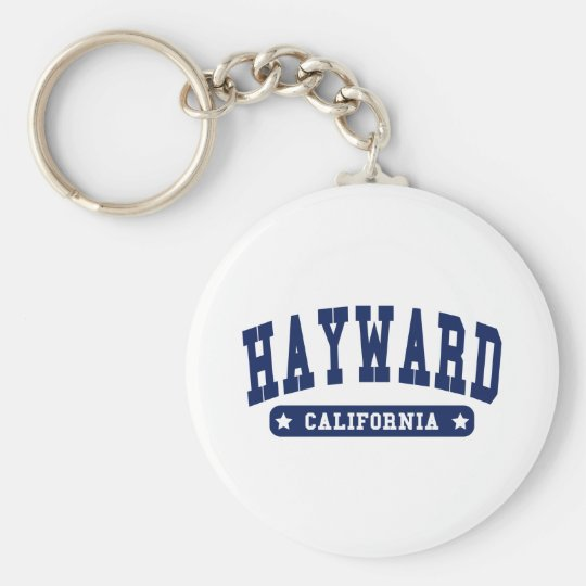 Hayward Kalifornien Uni-Artt-shirts Standard Runder Schlüsselanhänger