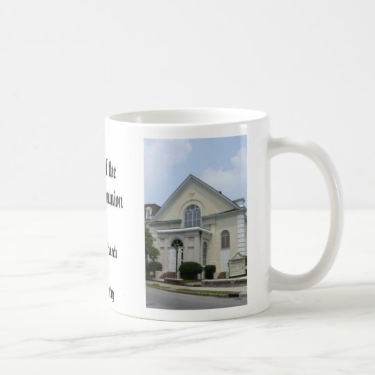 hc, hc, Kirche von theHoly CommunionCharleston, Sc Tasse