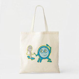 Hé dupez dupent la conception de comptine pour des sac en toile budget
