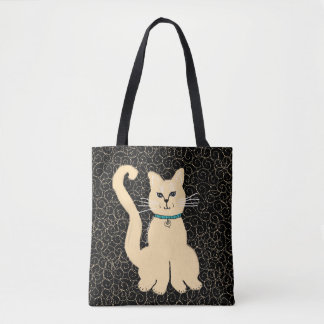 He hübsche Kitty-Designer-Tasche durch Julie Tasche