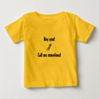 Hé vous ! , Appelez-moi un jour ou l'autre ! Tshirt