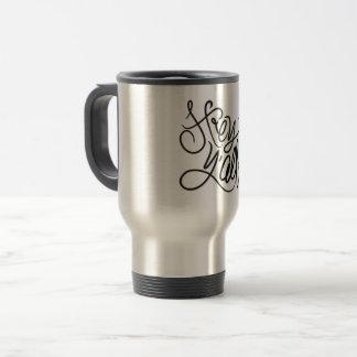 He YALL lässige südliche Gruß-Kaffee-Tasse Reisebecher