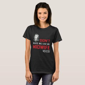 Hebamme-T-Shirt Hebamme-lustiges T-Stück T-Shirt