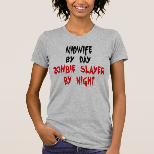 Hebamme-Zombie-Witz T-Shirt