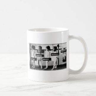 Hebammen sind unterschiedlich kaffeetasse