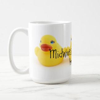 Hebammen und gelbe Gummienten Kaffeetasse