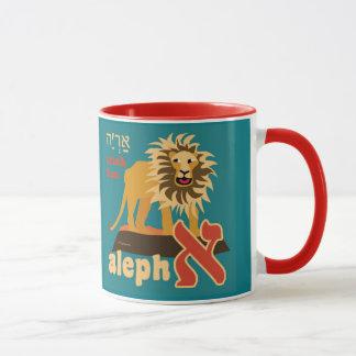 Hebräisches Alphabet-Kaffee-Tasse Tasse