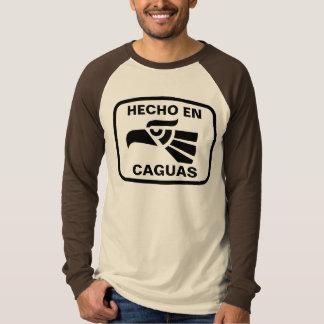 Hecho en Caguas personalizado Gewohnheit T-Shirt