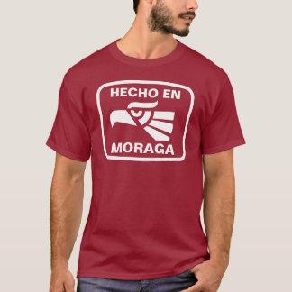 Hecho en Moraga personalizado Gewohnheit T-Shirt