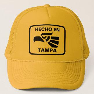 Hecho en Tampa personalizado Gewohnheit Truckerkappe