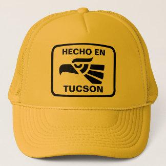 Hecho en Tucson personalizado Gewohnheit Truckerkappe