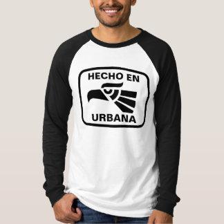 Hecho en Urbana personalizado Gewohnheit T-Shirt