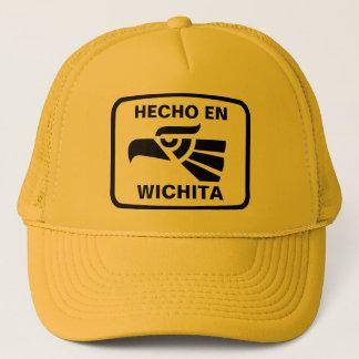 Hecho en Wichita personalizado Gewohnheit Truckerkappe