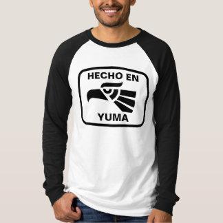 Hecho en Yuma personalizado Gewohnheit T-Shirt