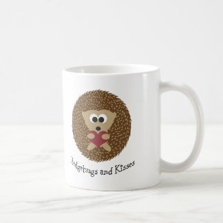 Hedgehugs und Kuss-Igel Kaffeetasse