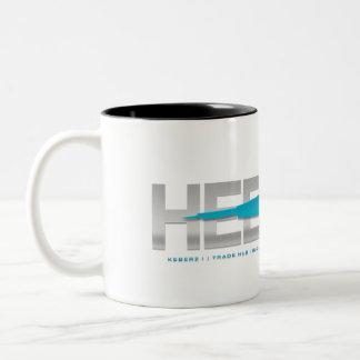 HEDWAY Station zwei-tonte Raum-Tasse! Zweifarbige Tasse