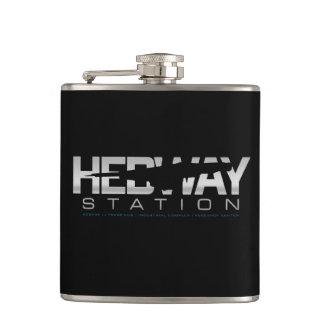 HEDWAY Stationsflasche (Schwarzes) Flachmann