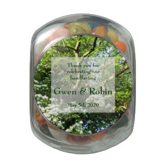 Heide bevorzugt Gelee-Bauch-Glas Beltane Hochzeit Porzellanbehälter