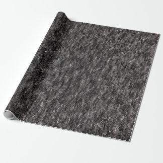 Heideholzkohlengrau-Strickgewebe mit individuellem Geschenkpapier