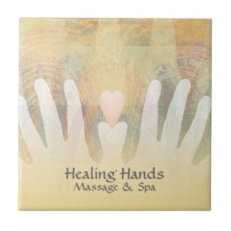 Heilende Handmassage u. -Wellness-Center Keramikfliese