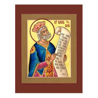 Heilig-David-Gebets-Karte Postkarte
