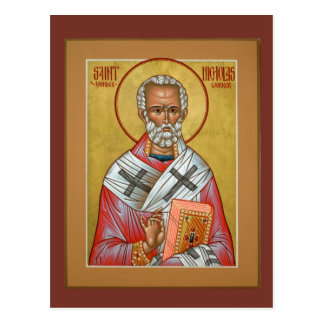 Heilig-Nicholas-Gebets-Karte Postkarte