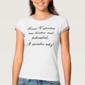 Heilig-Valentinsgruß T-Shirt