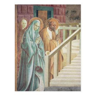Heilige Anne und Joachim an der Darstellung von Postkarte
