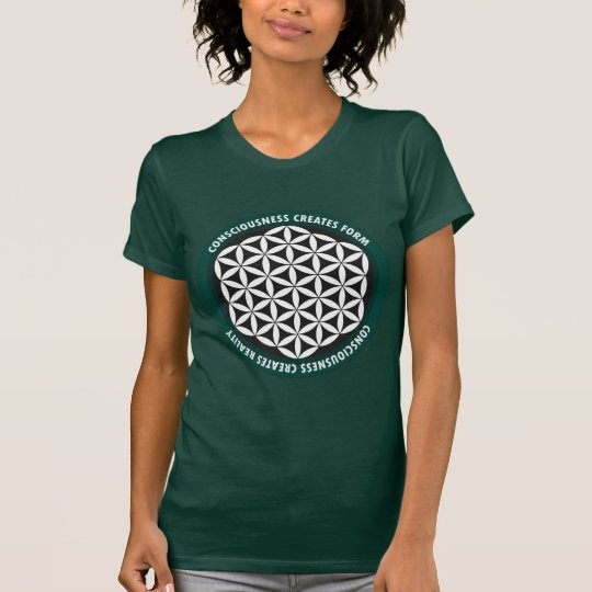 Heilige Geometrie: Blume des Lebens - Zitat T-Shirt