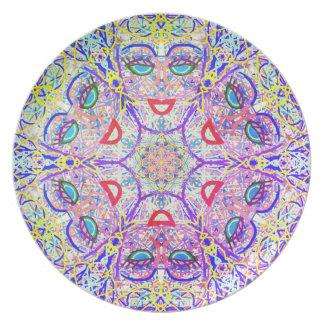 """Heilige Geometrie """"kann Platte bis März einmachen"""" Essteller"""