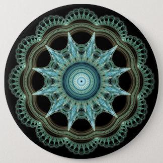 Heilige Geometrie Runder Button 15,3 Cm