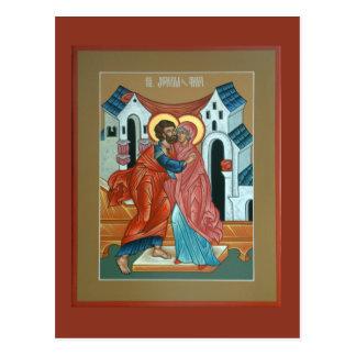 Heilige Joachim und Anna-Postkarte Postkarte