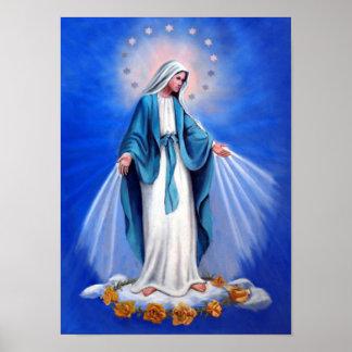 Heilige Jungfraumutter Mary, Mutter der Poster