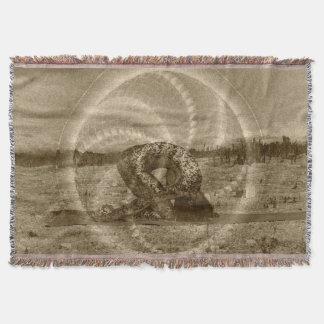 Heilige Kaninchen-Yoga-Pose durch Deprise Decke