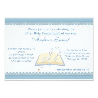 Heilige Kommunion 12,7 X 17,8 Cm Einladungskarte
