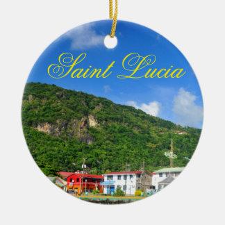 Heilige Lucia Keramik Ornament
