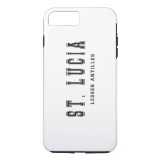 Heilige Lucia-Kleine Antillen iPhone 8 Plus/7 Plus Hülle