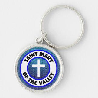 Heilige Maria des Tales Schlüsselanhänger
