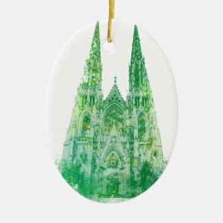 Heiligen Patrick Kathedrale New York Keramik Ornament