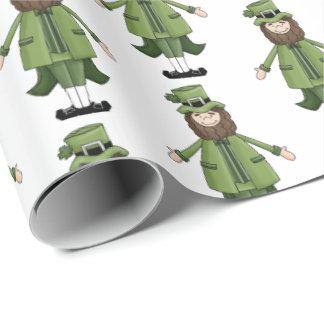 Heiligen Patrick mit Ziegeln gedeckte Verpackung Geschenkpapier